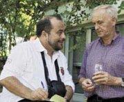 Cluade Loran im Gespräch mit Herbert Dick